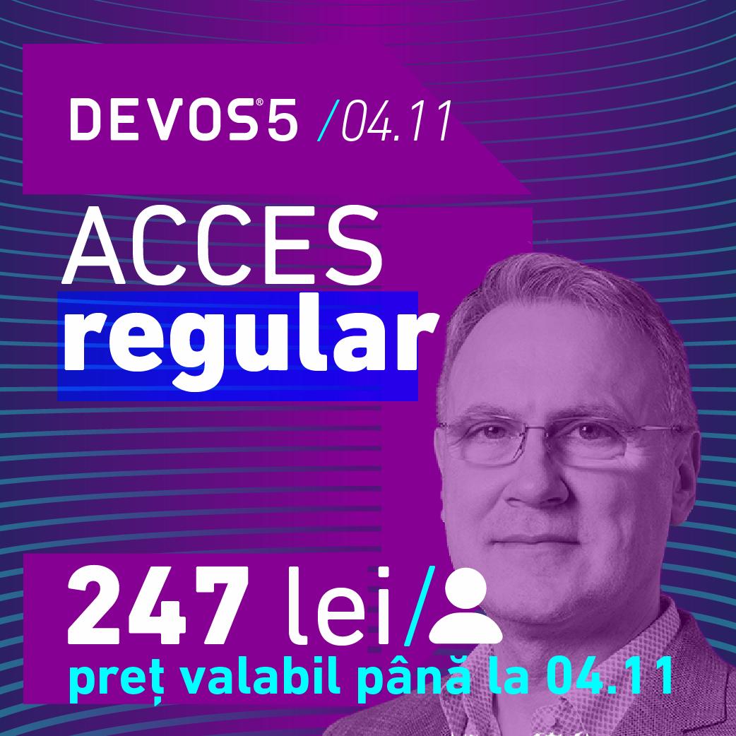 DEVOS 5 Regular