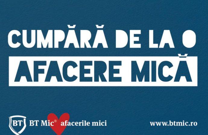 BT Mic susține afacerile mici!