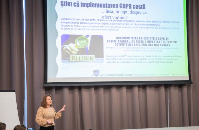 Despre GDPR și provocările pe care le implică. Întâlnirea 11 a bizz.club Iași